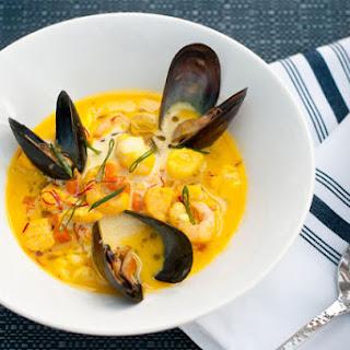 Spanish Style Seafood Chowder.