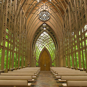 Cooper's Chapel in Bella Vista, AR by Jay Stout - Buildings & Architecture Places of Worship (  )