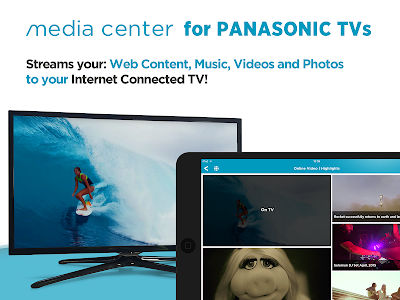 Panasonic TV Media Center screenshot 9