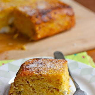 Torta de Maduro (Ripe Plantain and Cheese Cake)