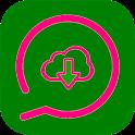 WhatsUp Status Saver icon