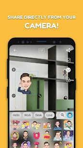 MomentCam Cartoons & Stickers 5.2.01 Unlocked MOD APK Android 3