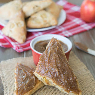 Healthy Salted Caramel Apple Scones