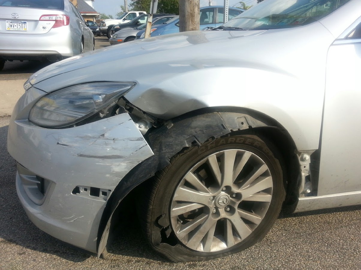 Yact Post Accident Car Doesn T Sound The Same Ars