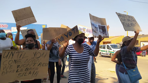 'We are not voting for the ANC', Thembisa residents tell Ramaphosa