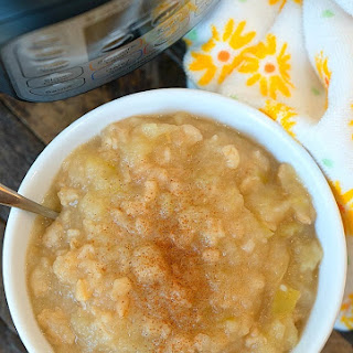 Pressure Cooker Applesauce.