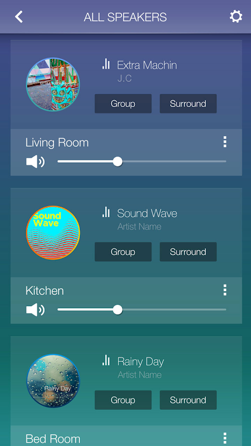 Wireless Audio - Multiroom- screenshot
