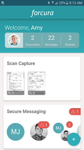 Forcura screenshot for Android