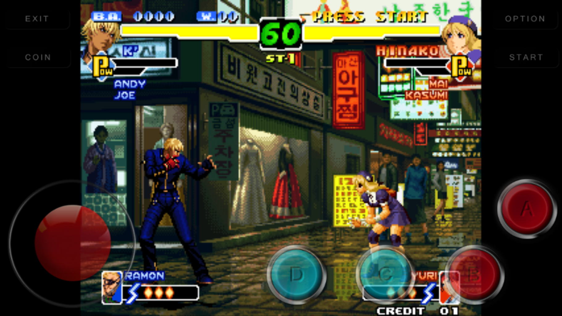 Code The King Of Fighters 2000 Kof2000 1 0 Apk Obb Download