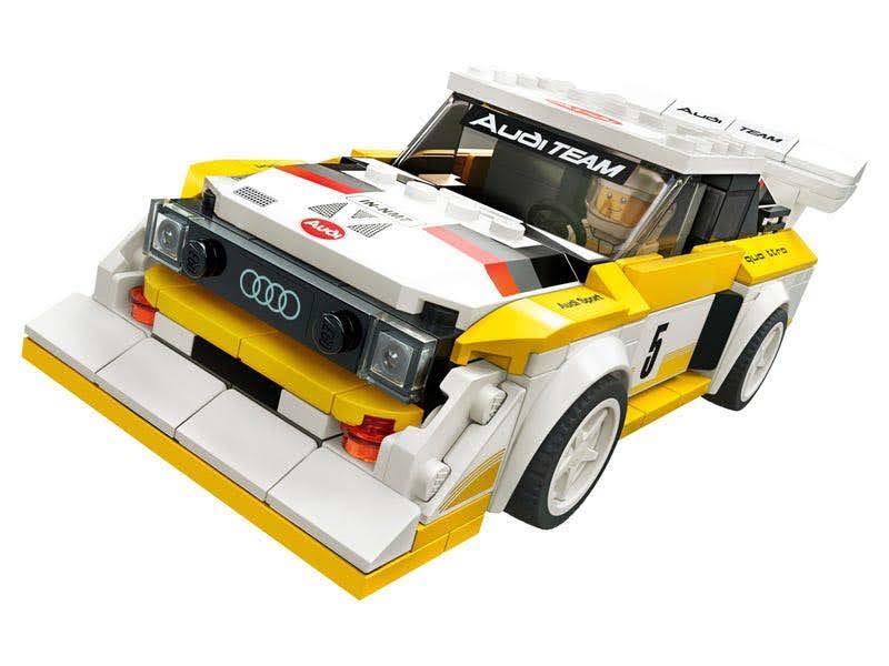 Contenido de Lego® 75897 1985 Audi Sport quattro S1