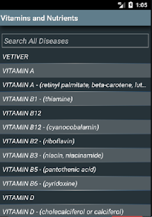 Vitamins and Nutrients (Free)- screenshot thumbnail