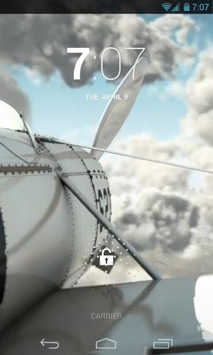 Plane Wing Travel Live Wallpap