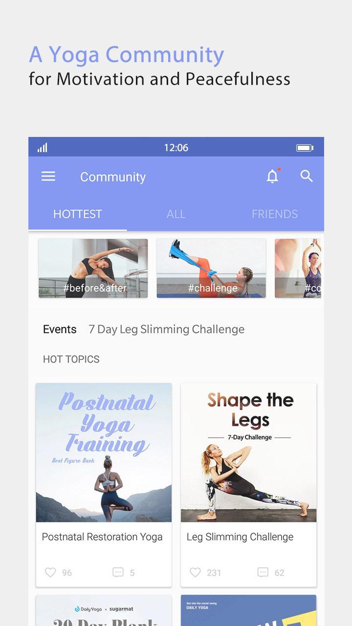 Daily Yoga - Yoga Fitness Plans Screenshot 5