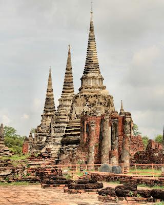 Palazzo reale di Ayutthaya di smpaint