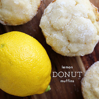 Lemon Donut Muffins