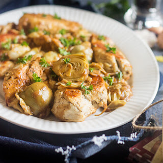Italian Chicken with Artichoke Sauce
