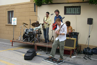 Photo: Band at the wine festival in Chianti