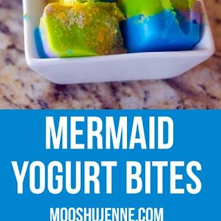 Mermaid Yogurt Bites.