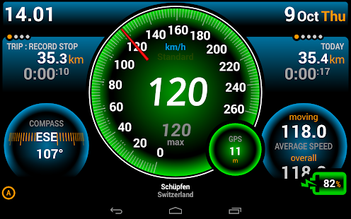 Ulysse Speedometer Pro Screenshot