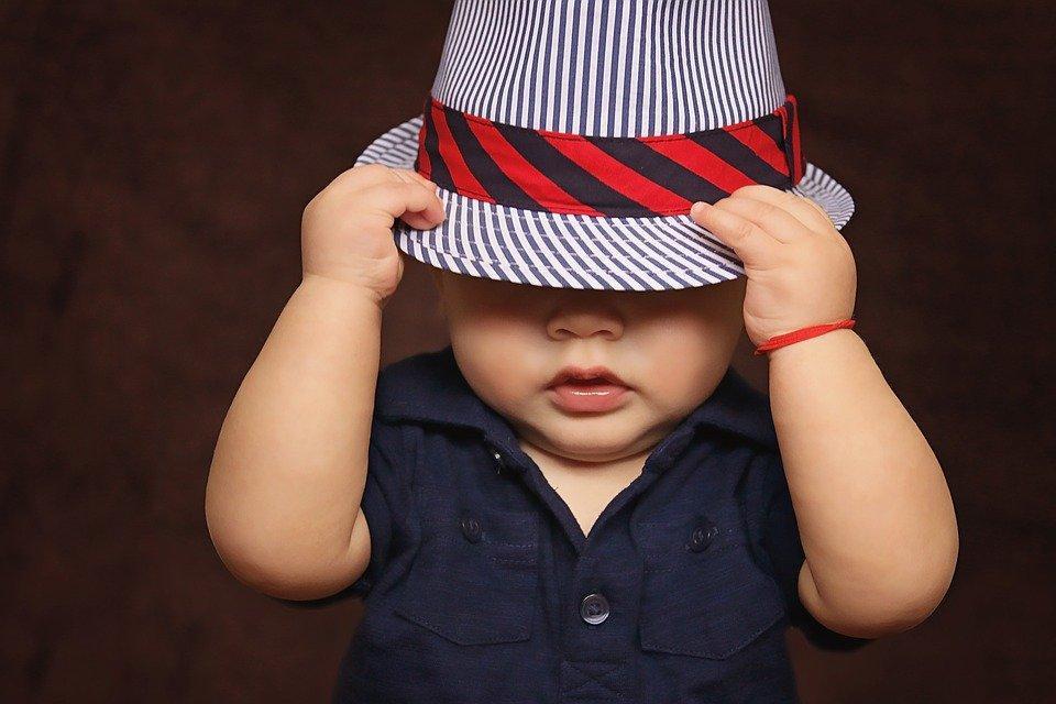 Baby, Boy, Hat, Covered, Child, Baby Boy, Kid, Cute