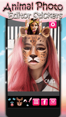 Animal Photo Editor Stickers - screenshot