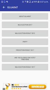 Gujarat MLA Election 2017 - náhled