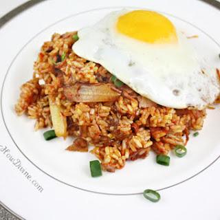 Prosciutto Kimchi Fried Rice