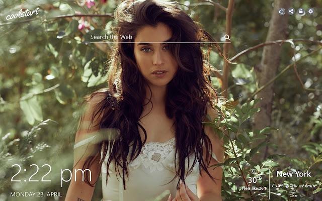 Lauren Jauregui HD Wallpapers New Tab Theme