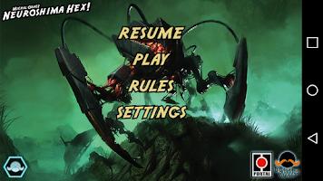 Screenshot of Neuroshima Hex