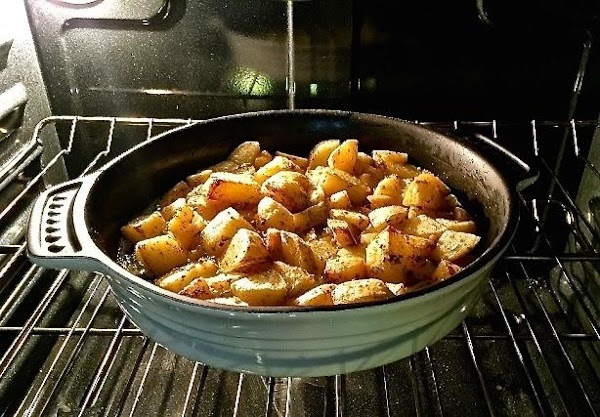 Return to oven and bake for 45 to 50 minutes,until the potatoes are deeply...