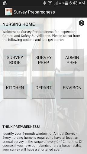 Survey Preparedness