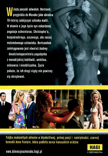 Tył ulotki filmu 'Dziewczyna Z Monako'