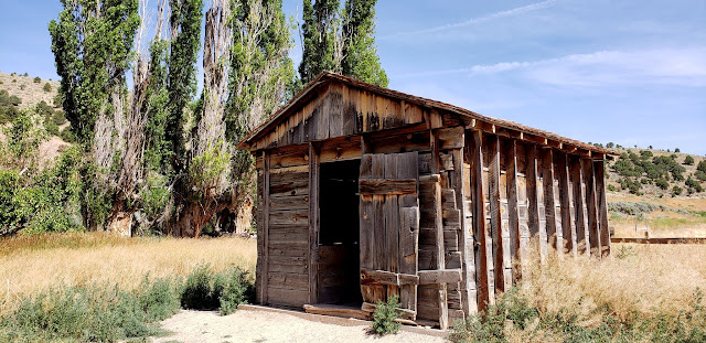 Shed near the Parker residence
