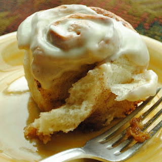 Refrigerator Cinnamon Rolls with Cream Cheese Icing