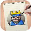 How to Draw Clash Royale icon