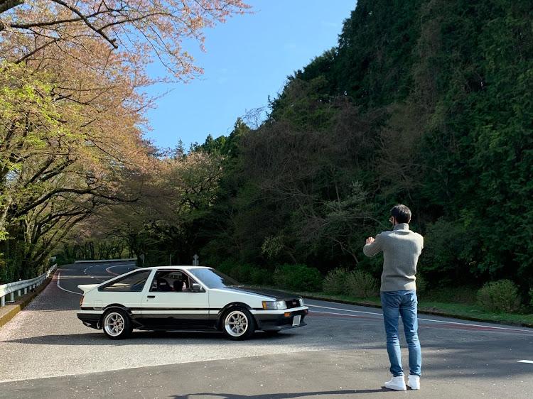 マークII JZX100のSSS(saitama street stage),箱根ターンパイク,大涌谷,芦ノ湖,富士山に関するカスタム&メンテナンスの投稿画像4枚目