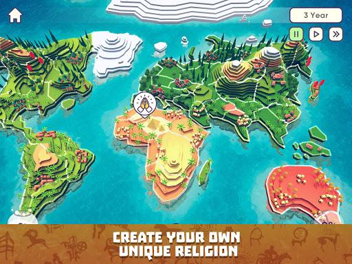God Simulator. Sandbox strategy game Religion Inc. apkpoly screenshots 9