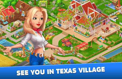 Solitaire: Texas Village apktram screenshots 15