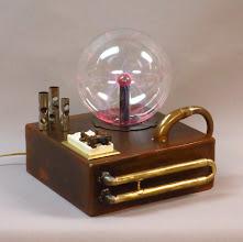 Photo: plasma globe steampunk