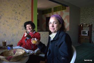 Photo: desayuno en la casa bereber