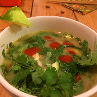 Paleo Green Chicken Curry Soup.