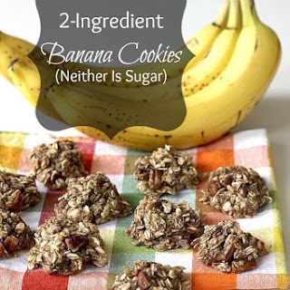 2-Ingredient Banana Cookies (Neither Is Sugar)