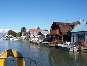 Photo: Float homes, Ladner BC