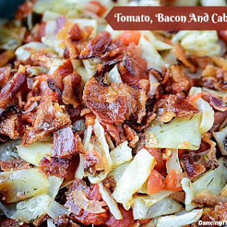 Tomato, Bacon and Cabbage Saute Recipe