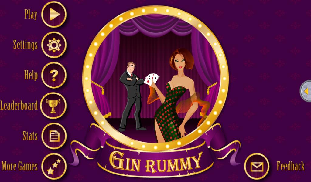 gin rummy straight
