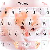 Cute Cat Theme&Emoji Keyboard