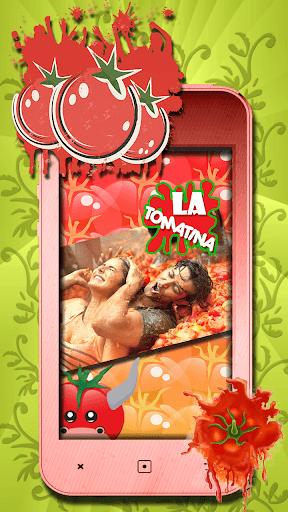 トマト祭りグリーティングカード