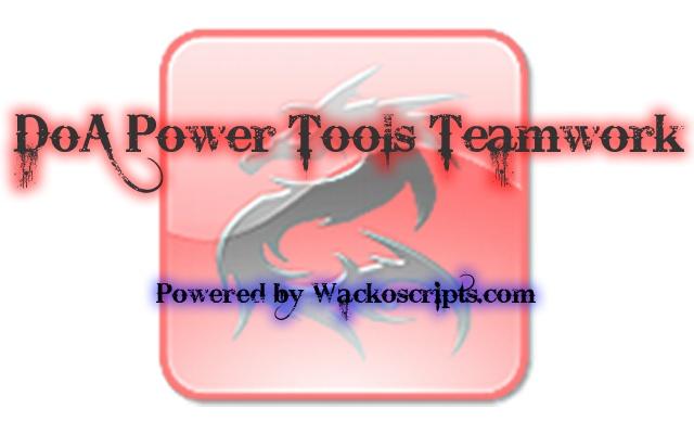 DoA Power Tools Teamwork chrome extension