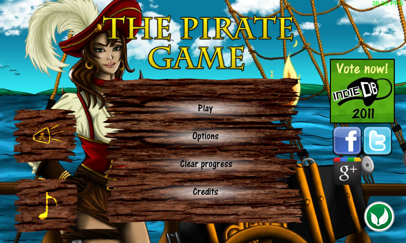 The Pirate Game (Free)- screenshot