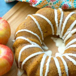 Instant Pot Pumpkin Apple Cake.